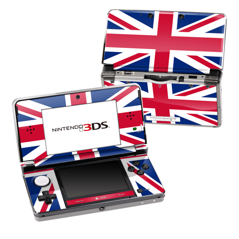 Union Jack Nintendo 3DS (Original) Skin
