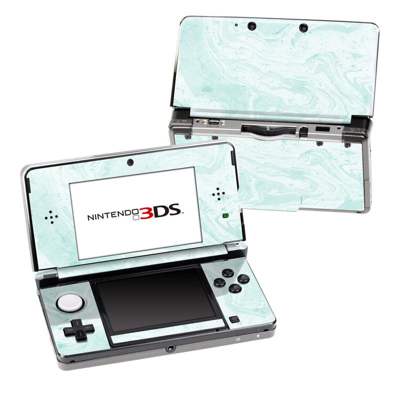 Winter Green Marble Nintendo 3DS (Original) Skin