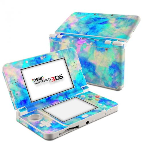 Electrify Ice Blue Nintendo 3DS (2015) Skin