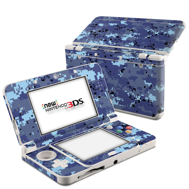Digital Sky Camo Nintendo 3DS (2015) Skin