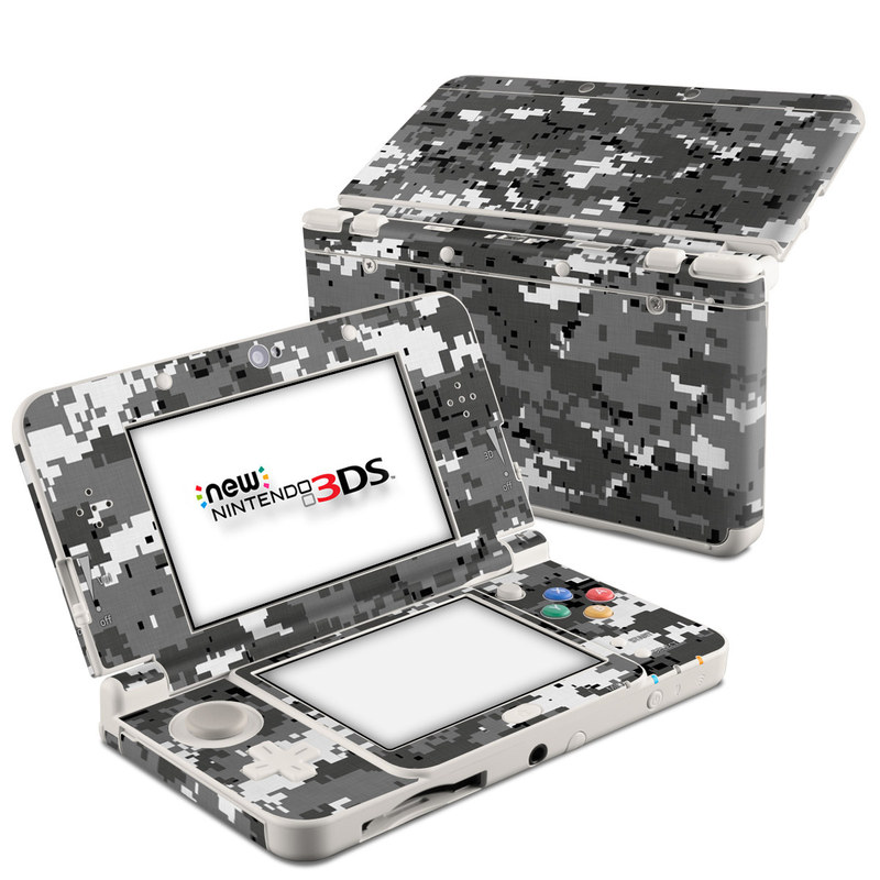 Digital Urban Camo Nintendo 3DS (2015) Skin