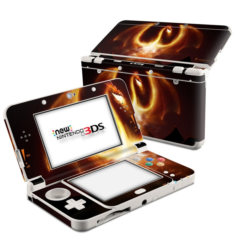 Fire Dragon Nintendo 3DS (2015) Skin