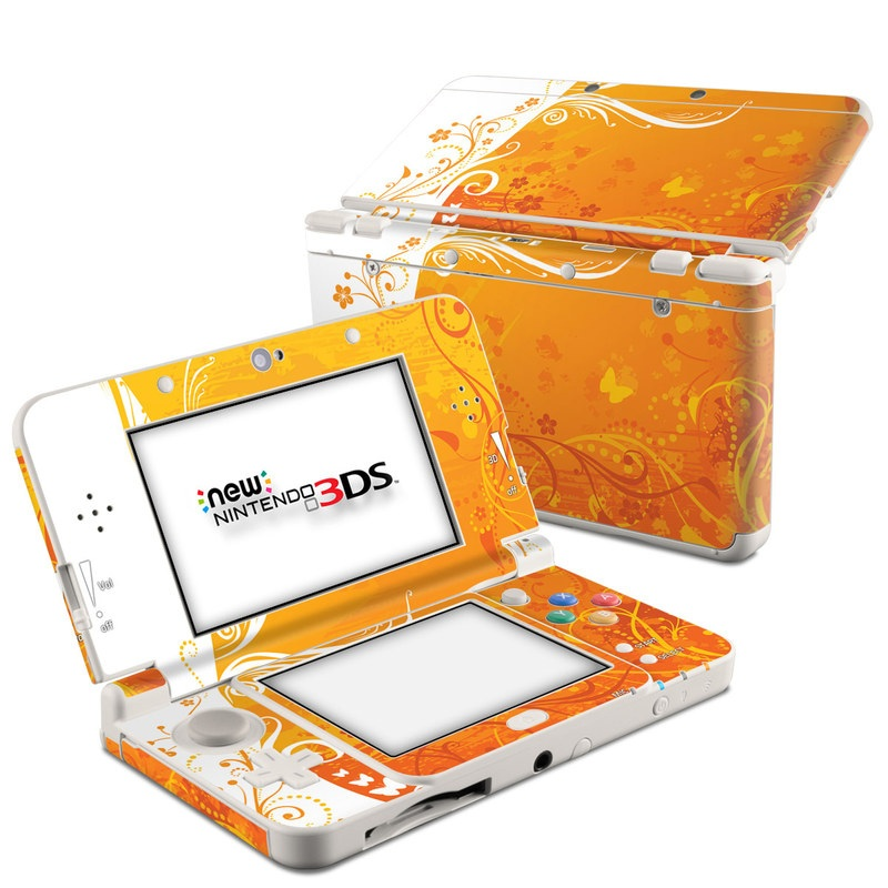 Orange Crush Nintendo 3DS (2015) Skin