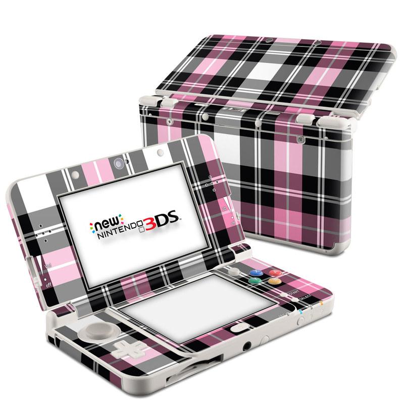 Pink Plaid Nintendo 3DS (2015) Skin