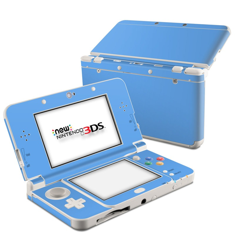 Solid State Blue Nintendo 3DS (2015) Skin