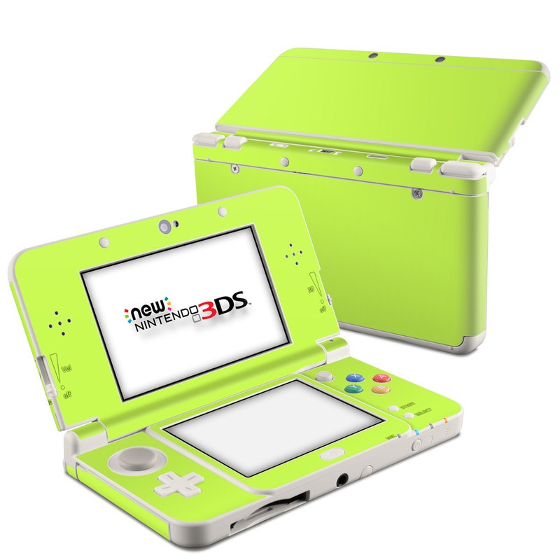 Solid State Lime Nintendo 3DS (2015) Skin