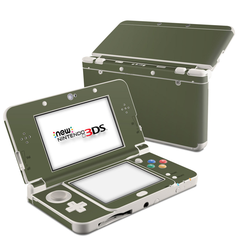 Solid State Olive Drab Nintendo 3DS (2015) Skin