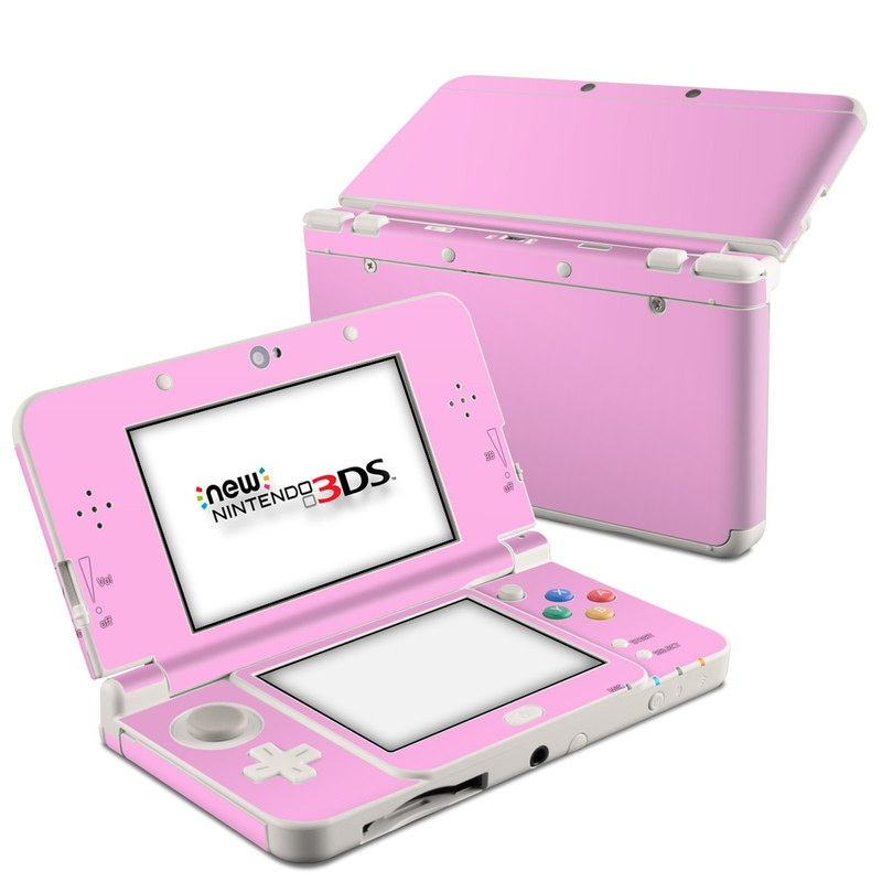 Solid State Pink Nintendo 3DS (2015) Skin