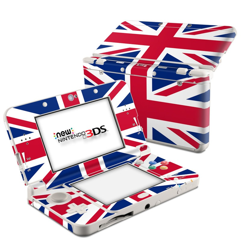 Union Jack Nintendo 3DS (2015) Skin