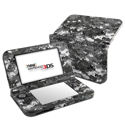 Digital Urban Camo Nintendo 3DS LL Skin