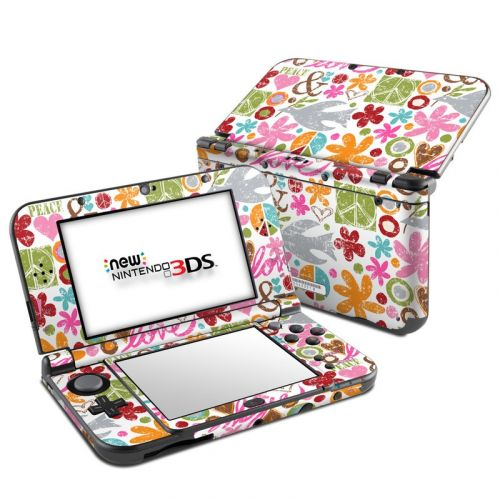 Peace Things Nintendo 3DS LL Skin