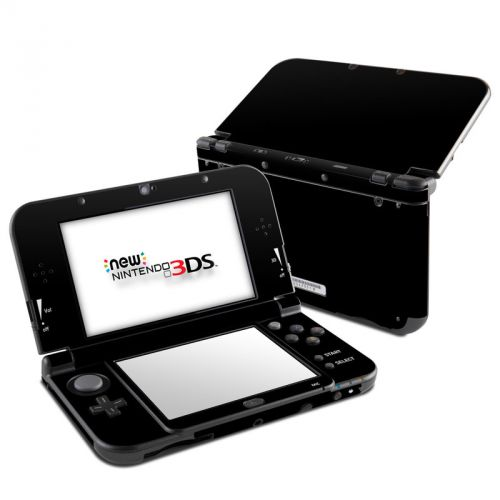Solid State Black Nintendo 3DS LL Skin