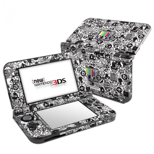 TV Kills Everything Nintendo 3DS LL Skin