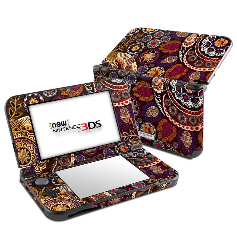 Autumn Mehndi Nintendo 3DS LL Skin