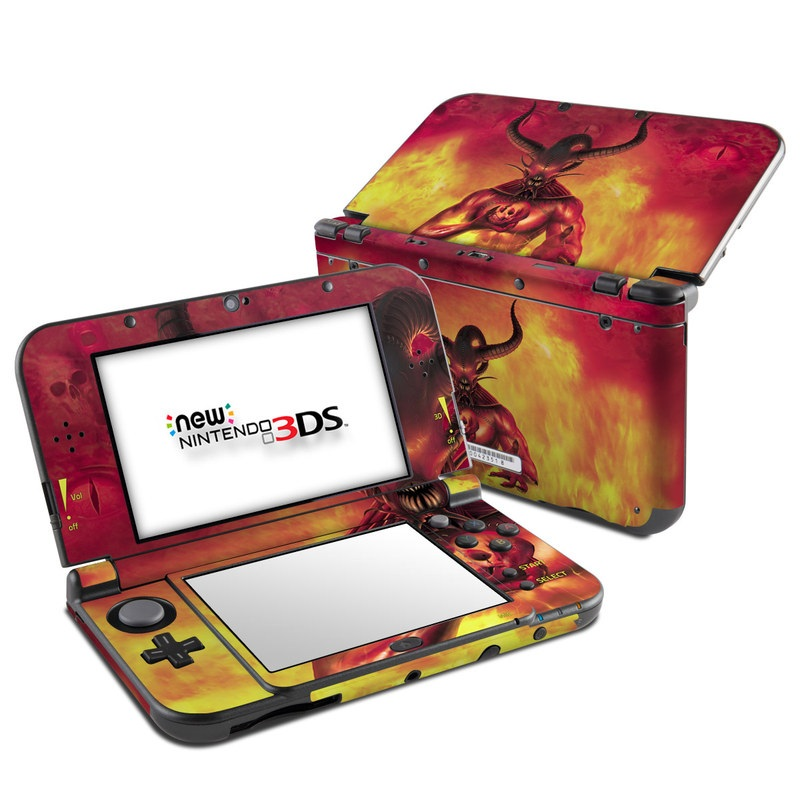 The Beast Nintendo 3DS LL Skin