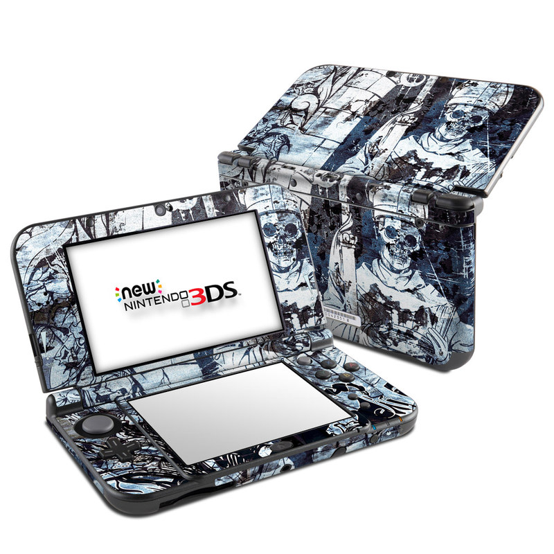 Black Mass Nintendo 3DS LL Skin