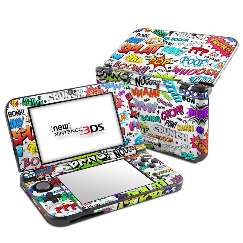 Comics Nintendo 3DS LL Skin