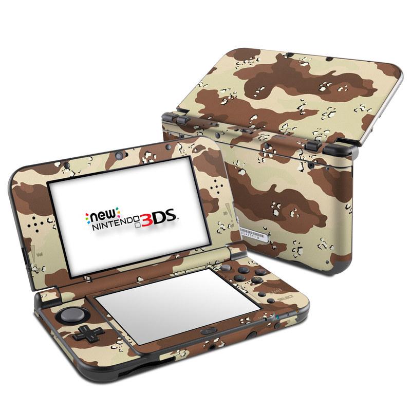 Desert Camo Nintendo 3DS LL Skin