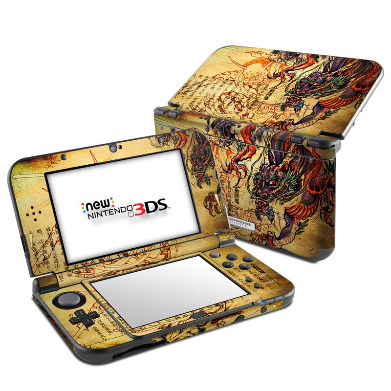 Dragon Legend Nintendo 3DS LL Skin