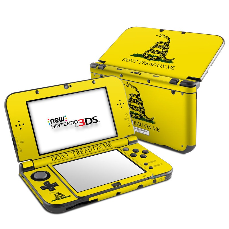 Gadsden Flag Nintendo 3DS LL Skin