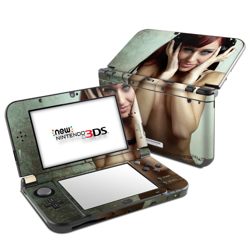 Headphones Nintendo 3DS LL Skin