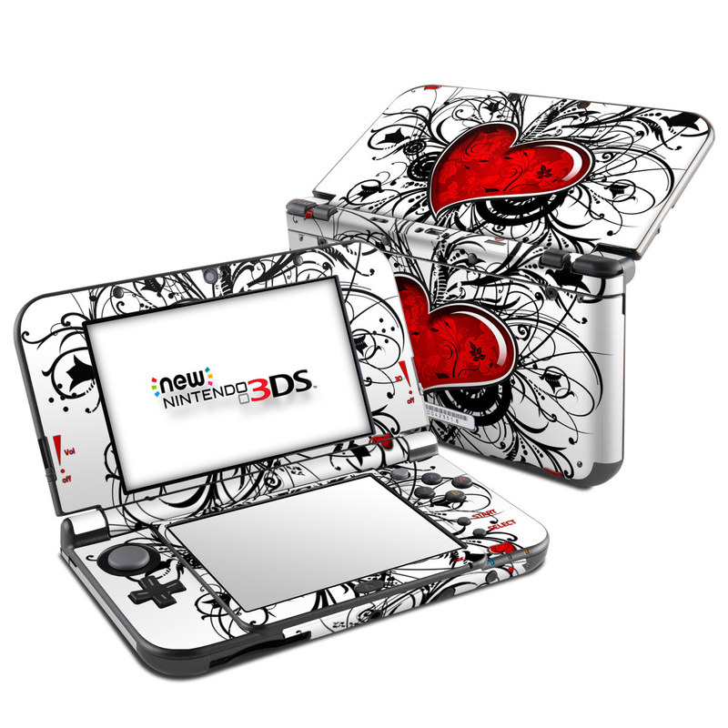 My Heart Nintendo 3DS LL Skin