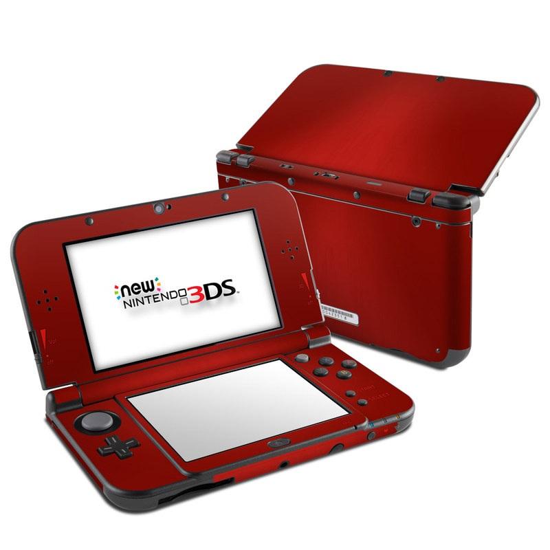 Red Burst Nintendo 3DS LL Skin