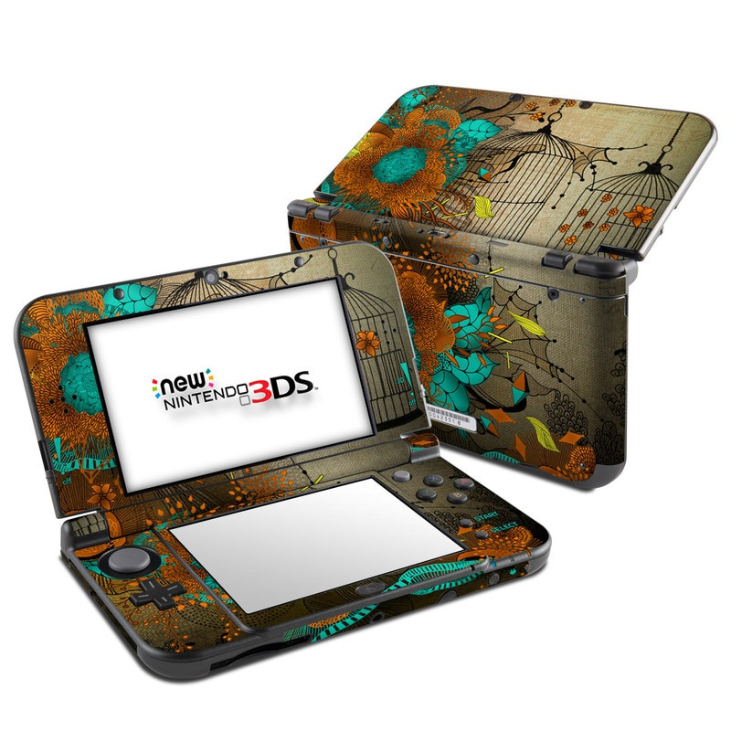 Rusty Lace Nintendo 3DS LL Skin