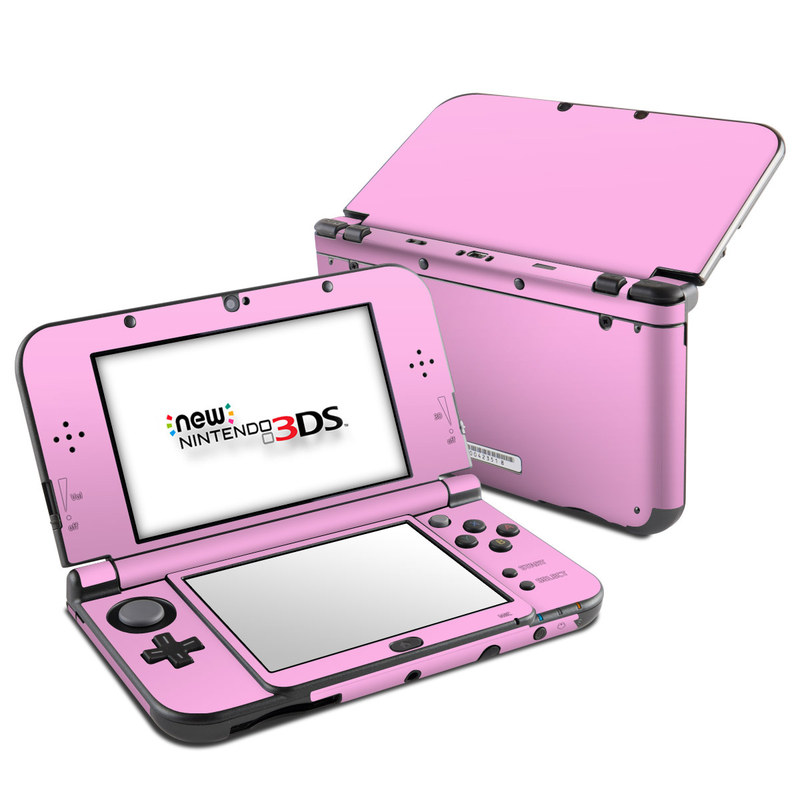 Solid State Pink Nintendo 3DS LL Skin