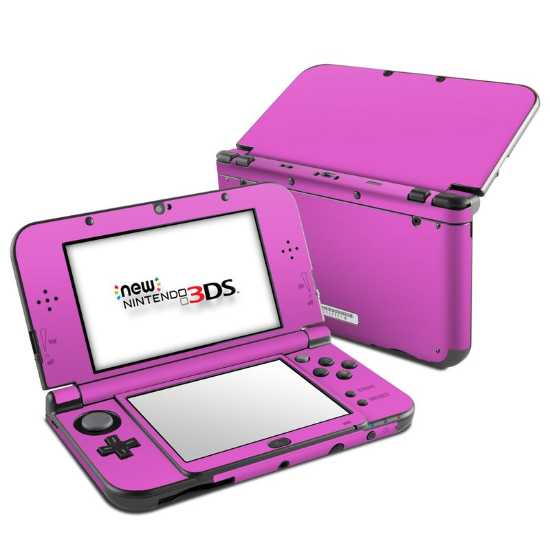 Solid State Vibrant Pink Nintendo 3DS LL Skin