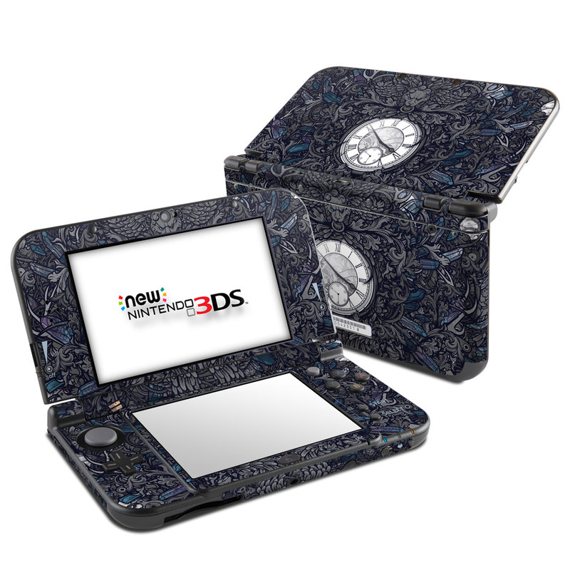 Time Travel Nintendo 3DS LL Skin