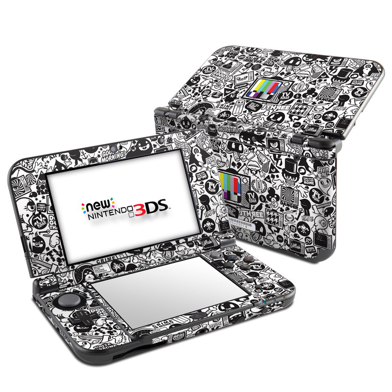 TV Kills Everything Nintendo 3DS LL Skin