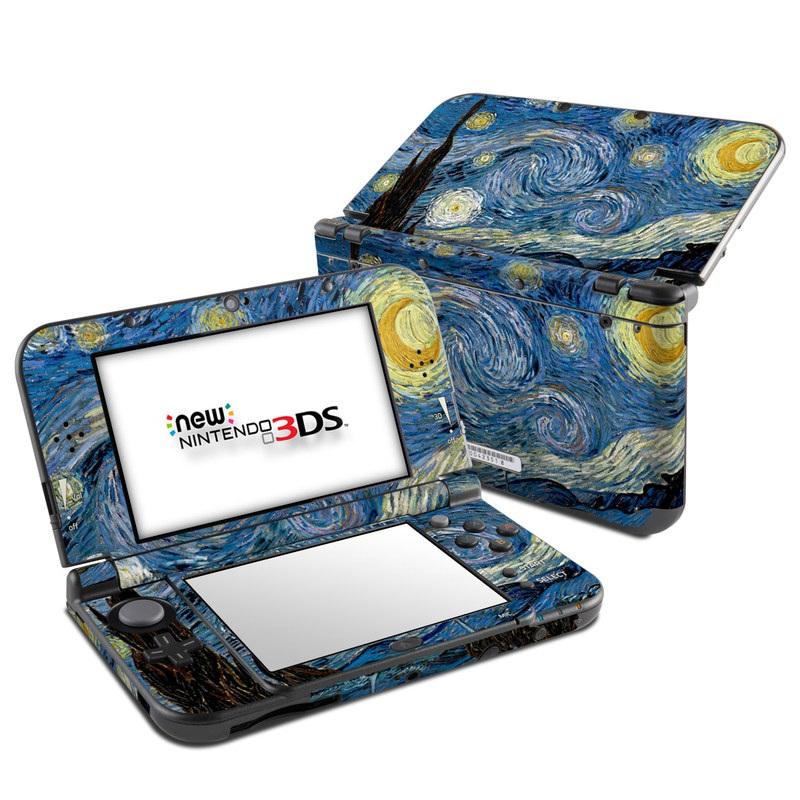 Starry Night Nintendo 3DS LL Skin