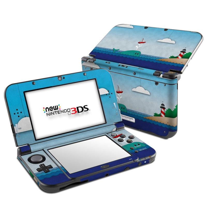 Whale Sail Nintendo 3DS LL Skin