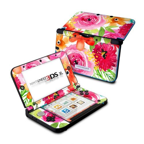 Floral Pop Nintendo 3DS XL (Original) Skin