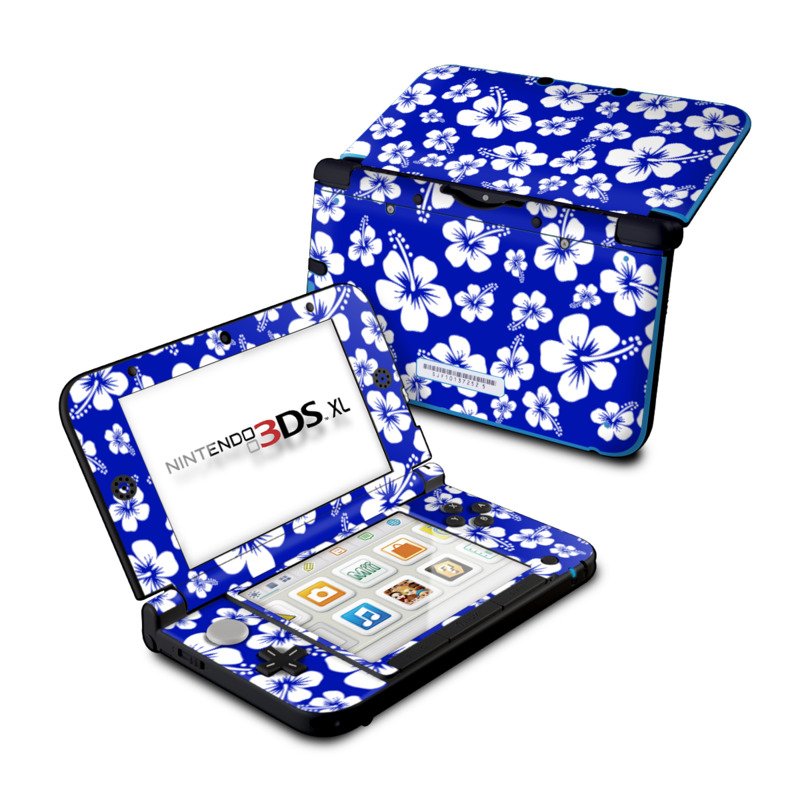 Aloha Blue Nintendo 3DS XL (Original) Skin