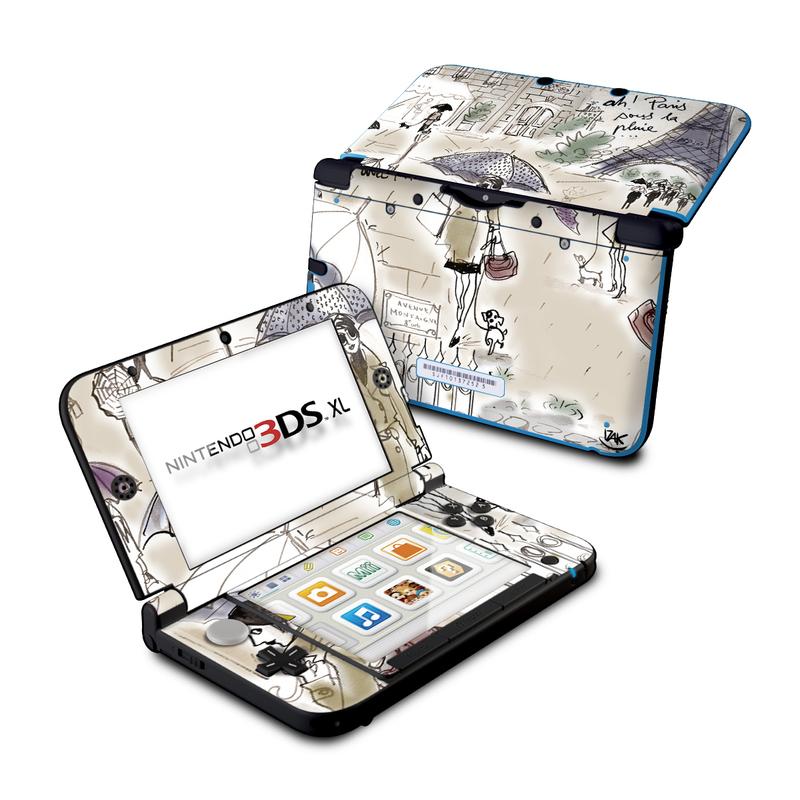 Ah Paris Nintendo 3DS XL (Original) Skin