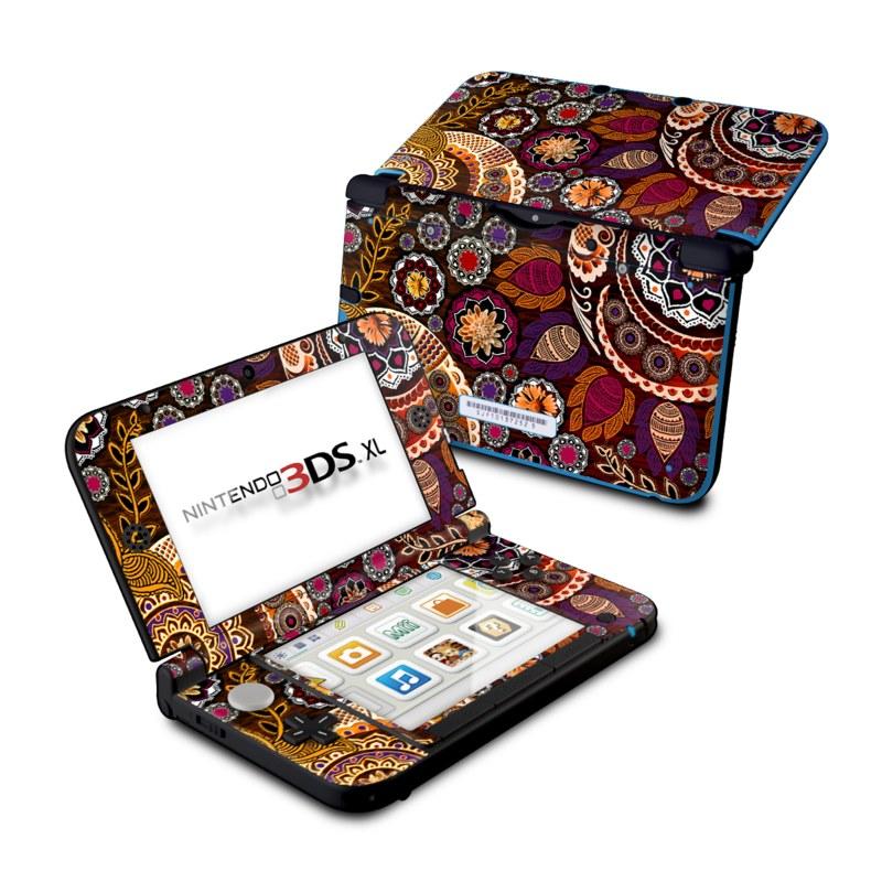 Autumn Mehndi Nintendo 3DS XL (Original) Skin