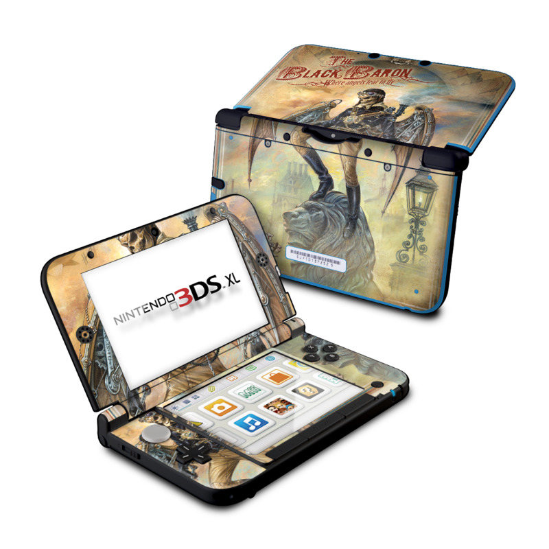 The Black Baron Nintendo 3DS XL (Original) Skin