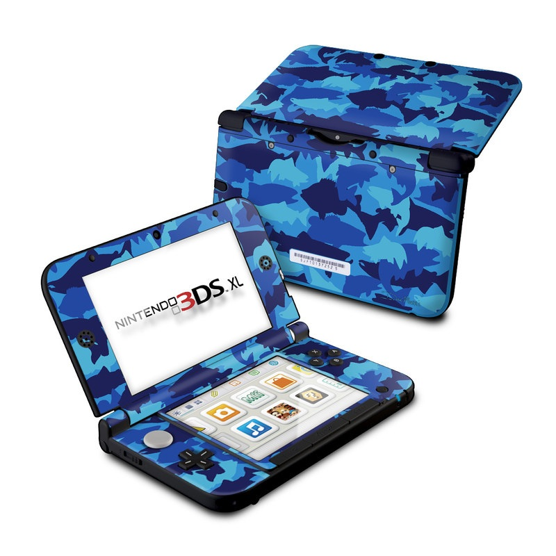 Camo Fish Nintendo 3DS XL (Original) Skin