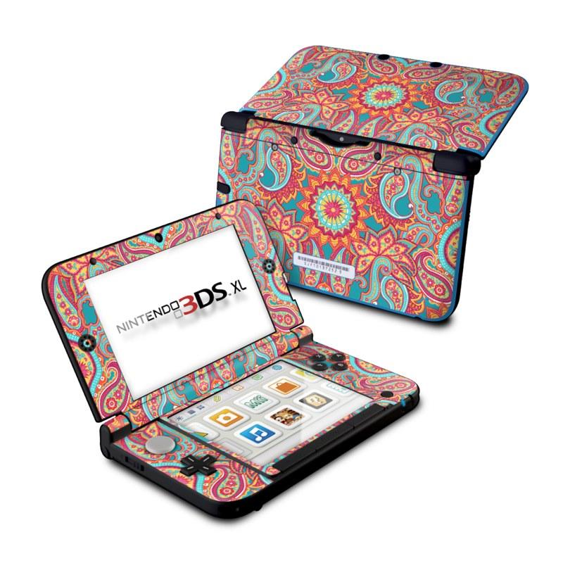 Carnival Paisley Nintendo 3DS XL (Original) Skin