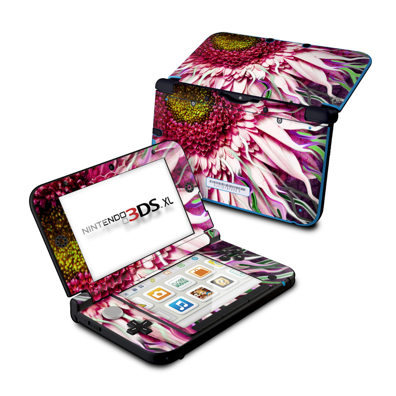 Crazy Daisy Nintendo 3DS XL (Original) Skin