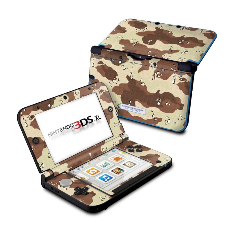 Desert Camo Nintendo 3DS XL (Original) Skin