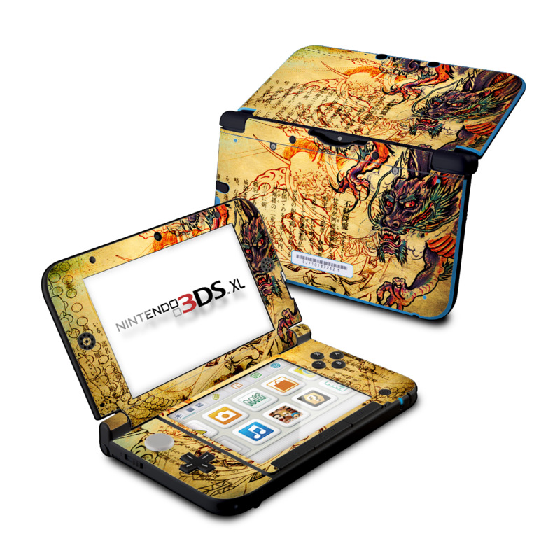Dragon Legend Nintendo 3DS XL (Original) Skin