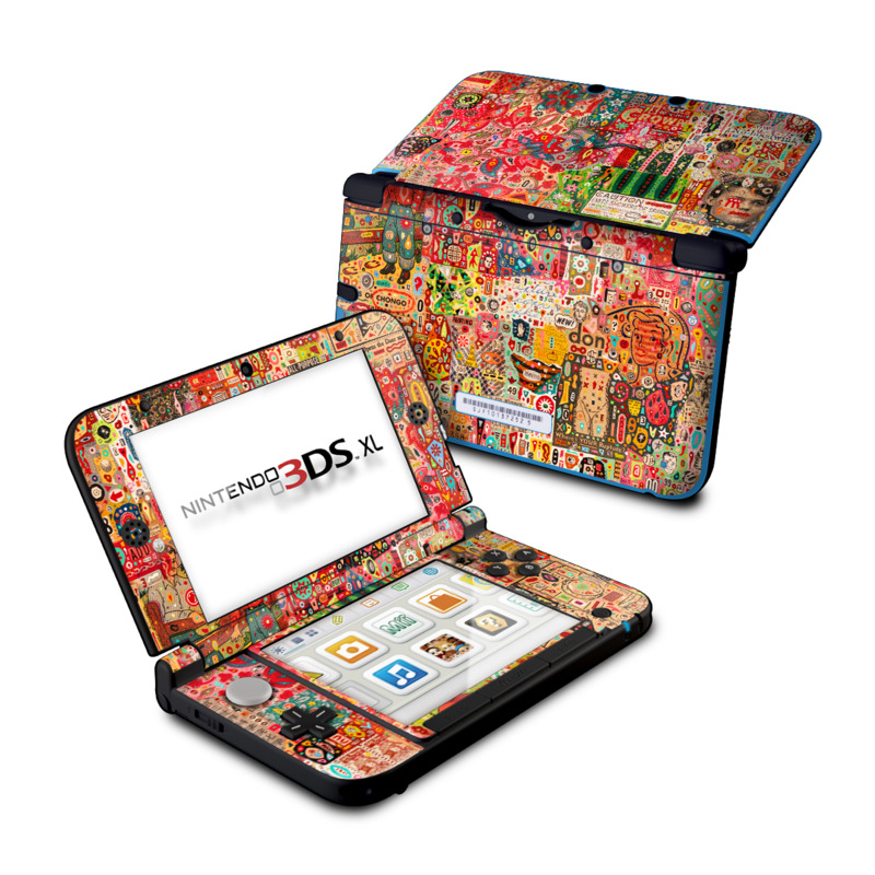 Flotsam And Jetsam Nintendo 3DS XL (Original) Skin