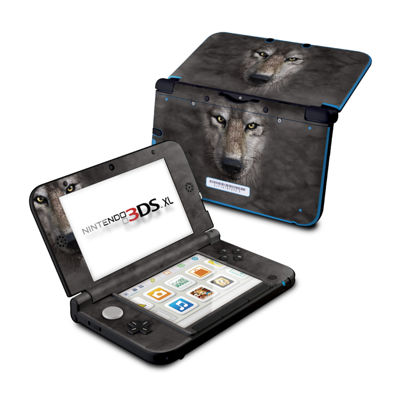 Grey Wolf Nintendo 3DS XL Skin