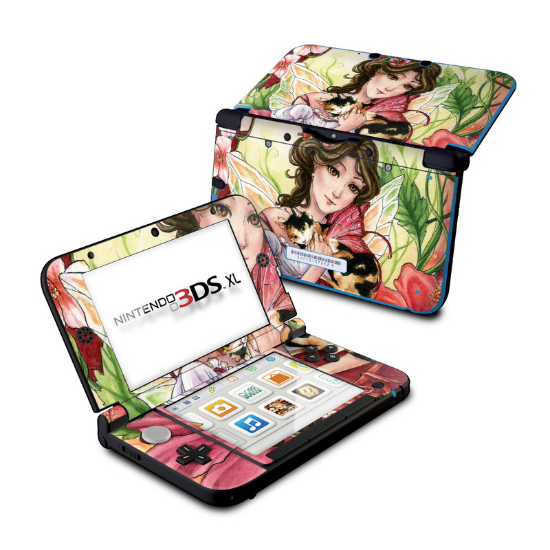 Hibiscus Fairy Nintendo 3DS XL (Original) Skin