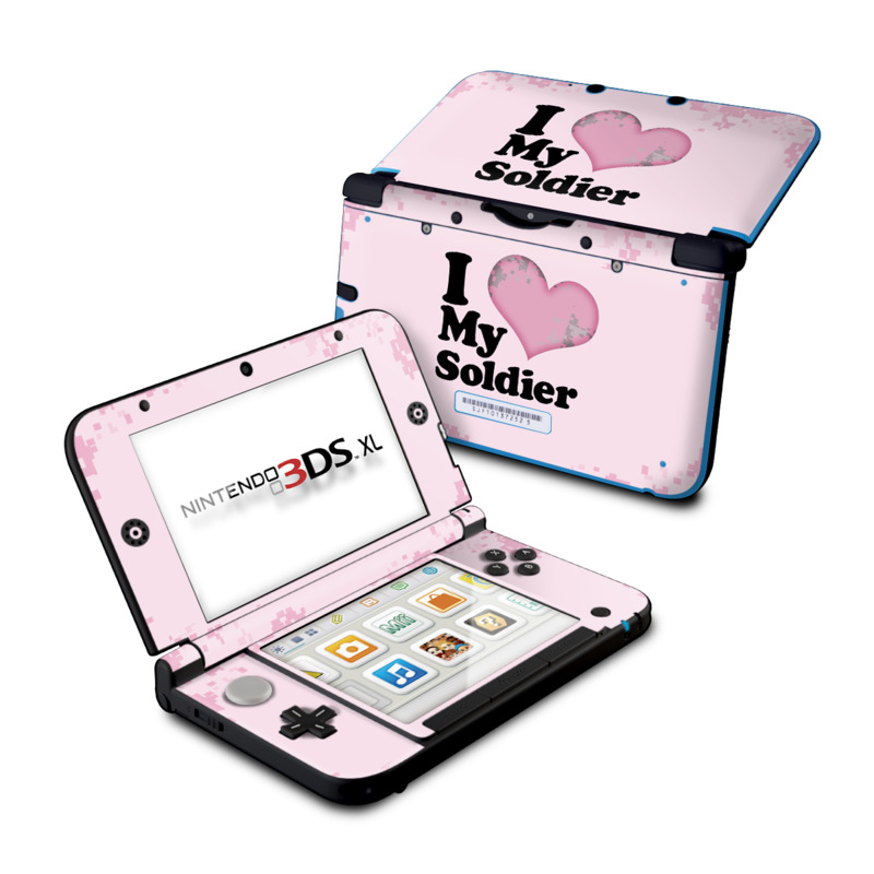 I Love My Soldier Nintendo 3DS XL (Original) Skin