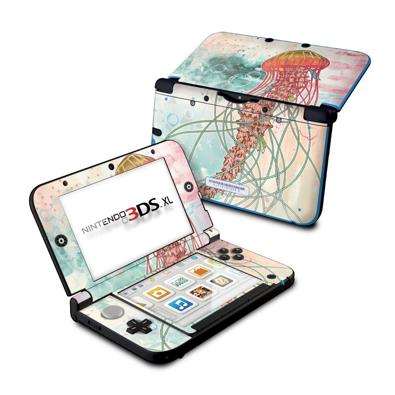 Jellyfish Nintendo 3DS XL (Original) Skin