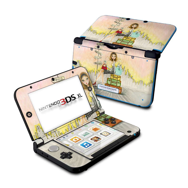 The Jet Setter Nintendo 3DS XL (Original) Skin